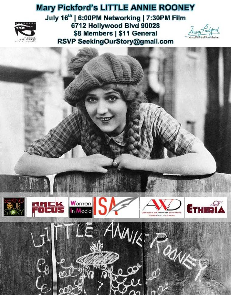 Celebrate Mary Pickford July 16th