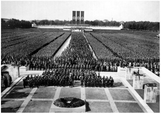 Still from TRIUMPH OF THE WILL (1935)